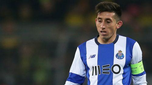 Héctor Herrera en juego del Porto