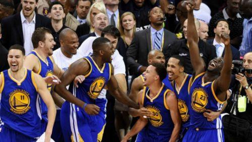 Warriors celebra triunfo en 2016