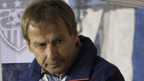 Jürgen Klinsmann en el banquillo de EU