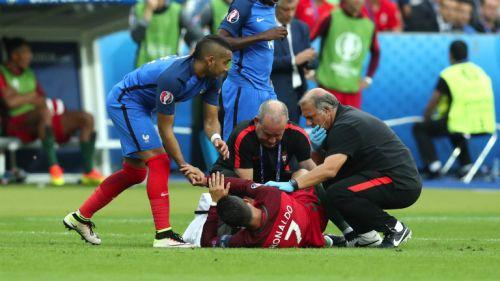 Payet se disculpa con Cristiano tras choque de rodillas