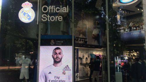 Fachada de la nueva tienda del Real Madrid bab9127bbd32e
