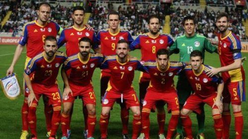 78711df14fbeb Equipo inicial de la selección de Andorra en las Eliminatorias