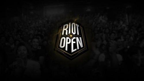 El logo del Riot Open para la temporada 2017