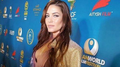 Adriana Fonseca, en una alfombra roja