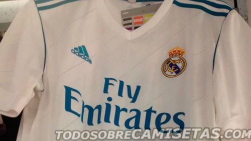 Posible playera que utilizaría el Real Madrid para la próxima temporada