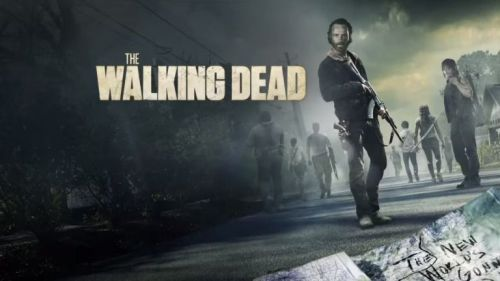 El póster de de una las temporadas de 'The Walking Dead'