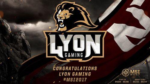 Lyon Gaming, el representante de Latinoamérica Norte en el MSI