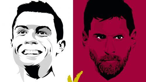 Cristiano y Messi se verán las caras en la cancha y en Twitter