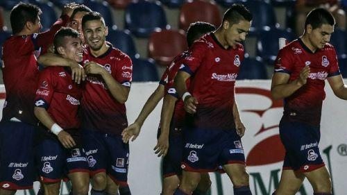 Los elementos de Cimarrones festejan uno de los tantos contra Zacatecas