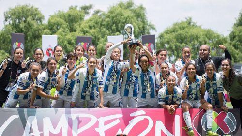 Las Tuzas de Pachuca celebran el título de Copa MX
