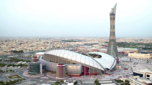 Vista aérea del Estadio Internacional Khalifa