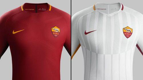 20cb55b5a8c7b Así lucen los jerseys de la Roma