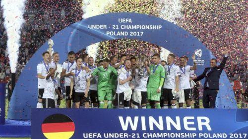 Alemania levanta el título de la Eurocopa Sub 21