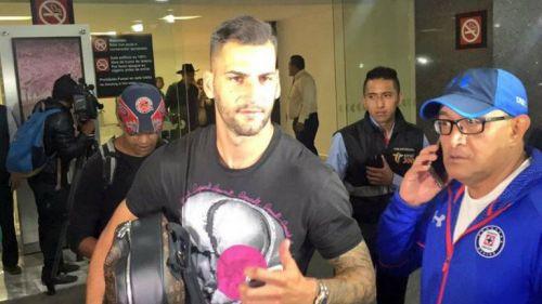 Méndez a su llegada a la Ciudad de México