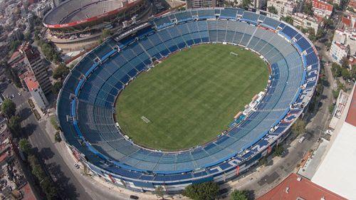 Estadio Azul desde las alturas