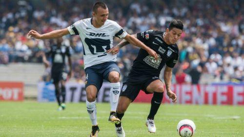 Brian Figueroa en el Apertura 2017 de la Liga MX en el Estadio CU