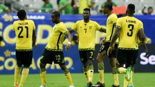 La Selección de Jamaica celebra un gol en la Copa Oro 8e4cdc6a8b24a