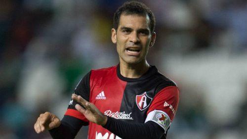 Márquez, durante un partido de Atlas