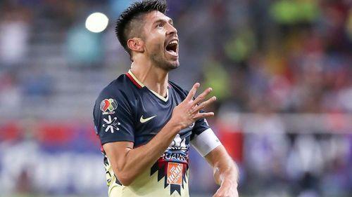 Oribe Peralta se muestra efusivo tras su gol contra Atlas