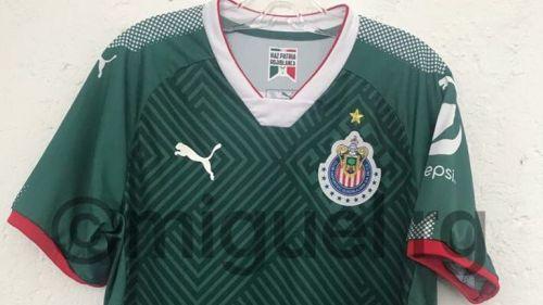 356e974c0 Así sería la playera verde de Chivas