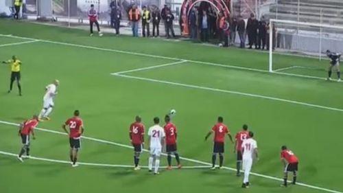 Tunez cobre penalti contra Libia en eliminatoria rumbo a Rusia