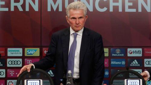 Jupp Heynckes, durante su presentación con el Bayern Munich