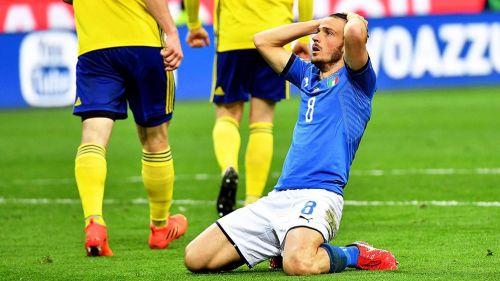 Florenzi se lamenta una falla frente a Suecia