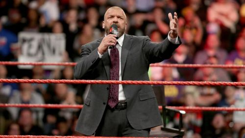Triple H en Monday Night RAW
