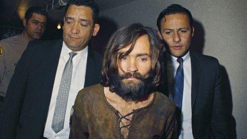 Charlos Manson cuando fue detenido en 1969 por asesinato