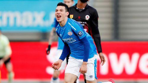 Chucky Lozano anota el gol del triunfo del PSV