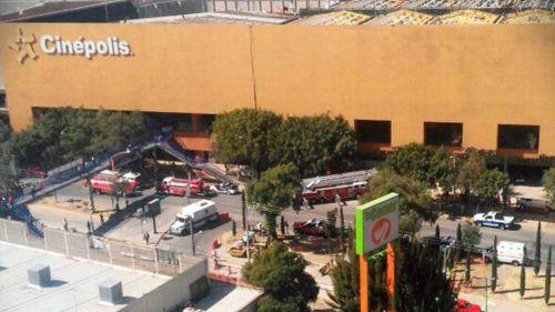 Se incendió cine en centro comercial de Edomex