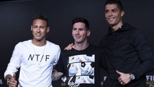 Messi, Neymar y Cristiano palpitan el sorteo