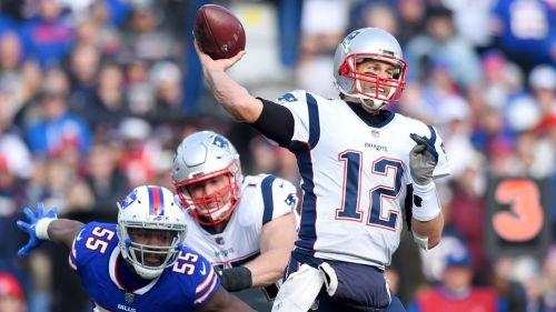 Brady rompe marca en triunfo de Patriots