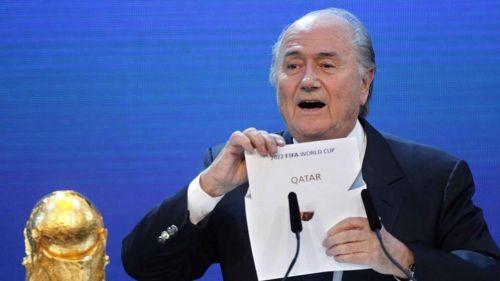 Joseph Blatter anuncia a Qatar como sede del Mundial 2022
