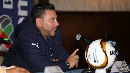 Mohamed, durante el día de medios de la Final Tigres vs Monterrey