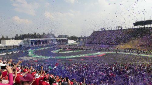 Por tercer año, GP de México es el mejor evento de F1