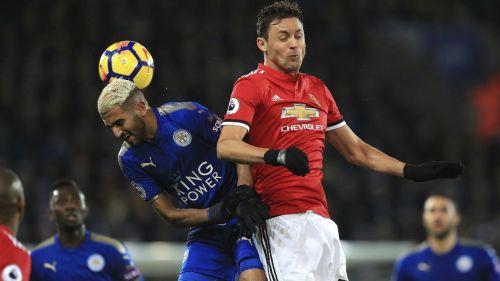 Manchester United empata con el Leicester City en Liga Inglesa de Fútbol