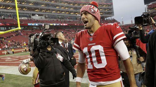 49ers se impone a Jaguars en víspera de Navidad