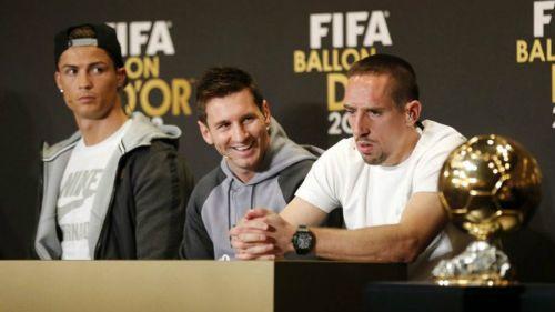 Franck Ribéry hace polémicas declaraciones sobre CR7 y el Balón de Oro