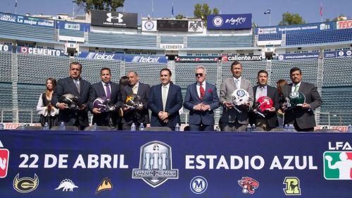 El Tazón México se llevará a cabo en el Estadio Azul