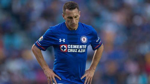 Chaco, durante una juego con cruz Azul