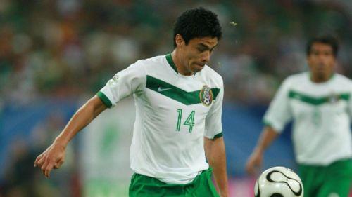 Gonzalo Pineda, en el juego de Portugal vs México en Alemania 2006