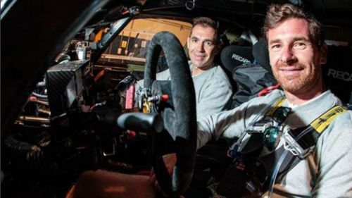 André Villas-Boas previo a iniciar el Rally Dakar 2018