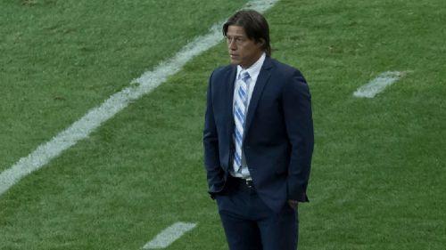 Almeyda, durante el partido frente a La Máquina
