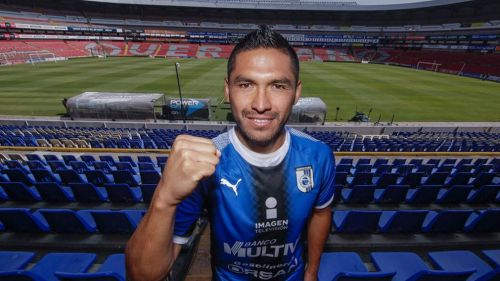 Joél Sánchez es presentado como refuerzo de Querétaro — México