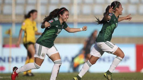 Selección Mexicana golea 4-0 a Jamaica