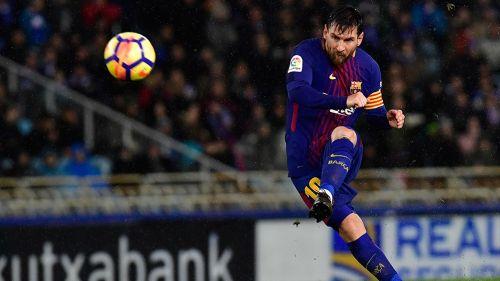 Messi sorprende con reto de puntería