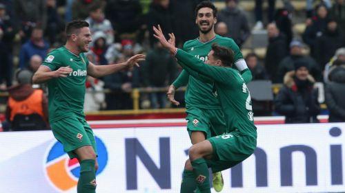 Bologna desperdició un gol olímpico de Erick Pulgar y cayó con Fiorentina