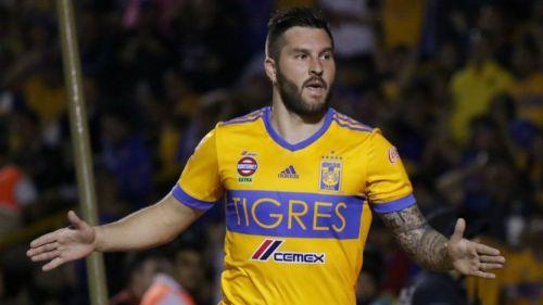 Gignac, en un juego de Tigres en el Clausura 2018