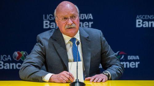 Bonilla durante una conferencia de prensa